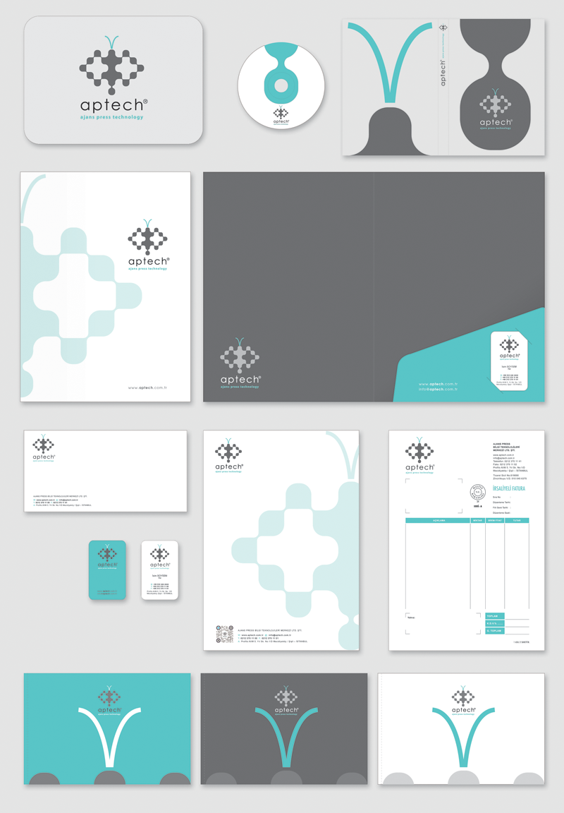 aptech corporate ID by Omer Faruk Mentes