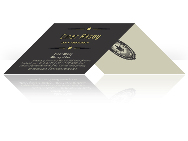 Law Office Corporate ID by Omer Faruk Mentes