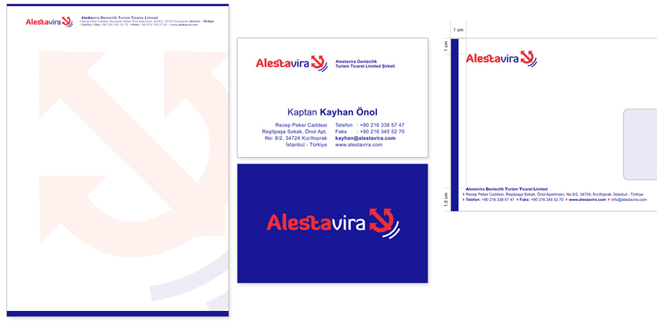 Alestavira Corporate ID by Omer Faruk Mentes