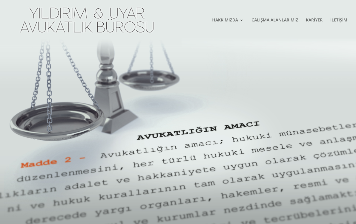 web design for law firm by Omer Faruk Mentes
