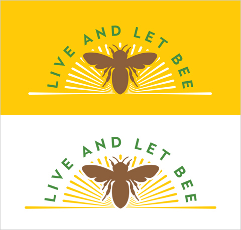 live and let bee logo